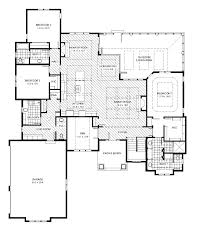 Glass House Floor Plan by The Englewood Trustway Homes