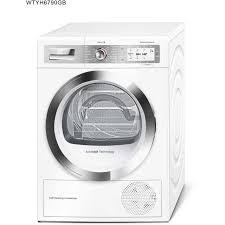 Cloths Dryers Bosch Serie 8 Wtyh6790gb Heat Pump Tumble Dryer White