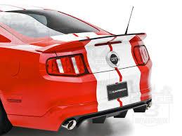 2010 mustang spoiler 2010 2014 mustang 3dcarbon gt500 style rear spoiler wing 691604