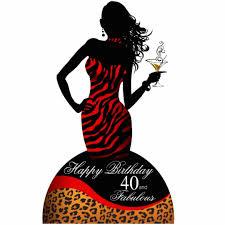 bombshell zebra leopard 40th birthday centerpiece cutout zazzle com