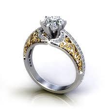 filigree engagement ring filigree engagement ring jewelry designs