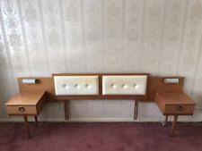 Retro Bedroom Furniture Sets by Headboard Vintage Retro Bedroom Furniture Sets Ebay