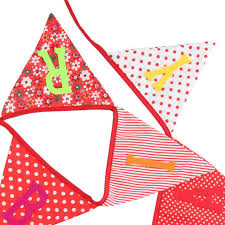 Safety Pennant Flags 1set Bunting Pennant Flags Banner Wedding Baby Birthday Party