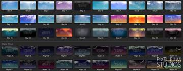 final cut pro text effects new sky text backdrop plugin for final cut pro x from pixel film studios