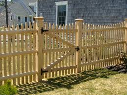 Picket Fences Cape Cod Fence Company Spaced Picket Fences