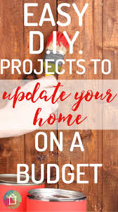 easy diy home projects to transform your home designer trapped