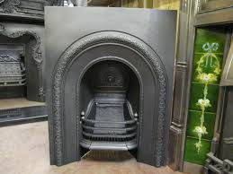 victorian arched bedroom insert cast iron fireplace cast iron