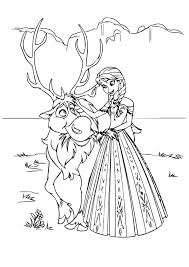 frozen coloring pages elsa anna kids coloringstar