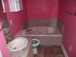 astounding pink bathroom ideas suite countertops and green tile
