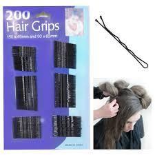 the hair grip 200 hairgrips wave black hair grips salon slides