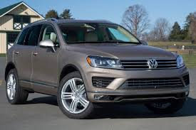 Used 2015 Volkswagen Touareg Diesel Pricing For Sale Edmunds