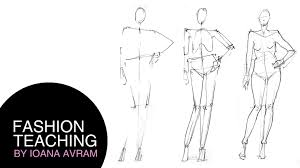 learn how to draw fashion poses in 3 easy steps youtube