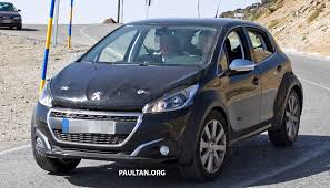 peugeot cars malaysia spyshots peugeot 1008 compact crossover on test