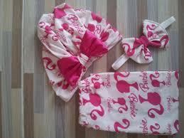 headband baby murah turban legging headband motif garis baju bayi celana bayi