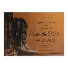 save the date invitation wedding invitations save the date western attire