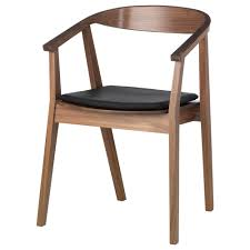 Ikea Dining Chairs Australia Stockholm Chair With Chair Pad Walnut Veneer Brown Ikea