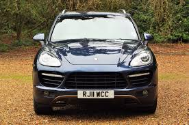 porsche v8 used porsche cayenne v8 turbo tiptronic s blue 4 8 estate