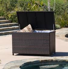 Patio Cushion Storage Bin by Patio Cushion Storage Box Home Design Ideas
