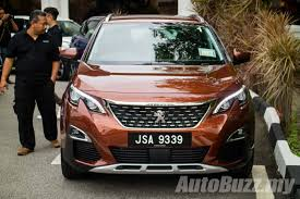 peugeot copper all new peugeot 3008 launched in malaysia 2 variants from rm142