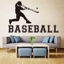 Baseball Bedroom Decor Online Get Cheap Boys Baseball Room Aliexpress Com Alibaba Group