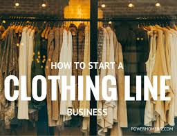 How To Start A Home Decor Business How To Start A Clothing Line Business Or Apparel Manufacturing