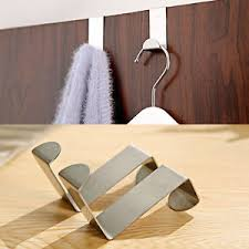 crochet cuisine inox 2x acier inox cintre crochet patère porte accroche salle bain