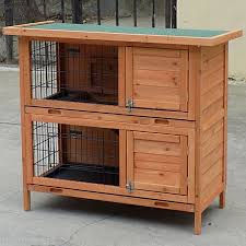 Rabbit Hutch Wood Large Seperate Level Wooden Rabbit Hutch Pet House Buy Rabbit