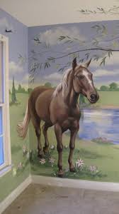 girls bedding horses best 25 horse mural ideas on pinterest western kids rooms