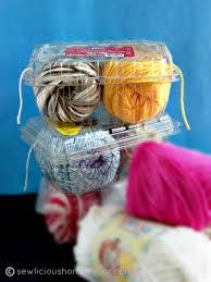 yarn u0026 twine containers craft room organization ideas