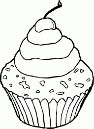 cupcake coloring page chocolate coloring pages coloring home