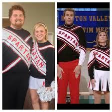 great couple halloween costume ideas spartan cheerleader costume golden saturday night live skit was