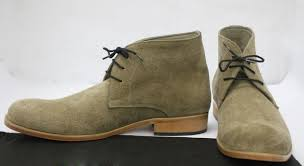 handmade mens olive green chelsea suede leather boots men leather