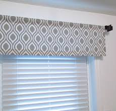 raindrops gray white curtain valance soft cornice handmade in