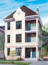 three plex floor plans multi plex house plans and multi family floor plan designs at