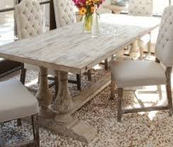 Distressed Dining Room Sets | white distressed dining table foter