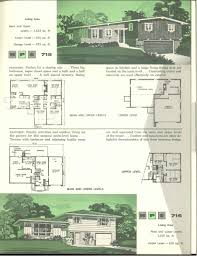 nps multi level homes 1961 vintage house plans 1960s pinterest