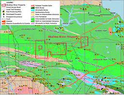 Property Maps Shallow River Property Rjk Explorations Ltd