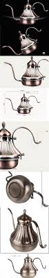 HONGJING Classic Pour Over Drip Coffee Kettle 24Oz Premium