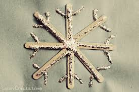 popsicle stick snowflake sts