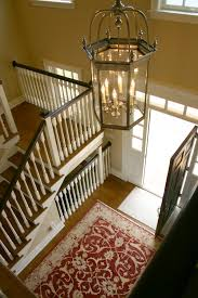 would one paint or stain the banister on a staircase i have an