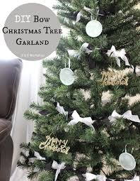 white christmas tree garland christmas lights decoration