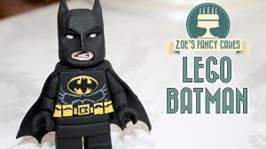 lego batman cake topper fondant figure lego movie
