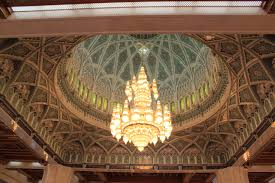 Sultan Qaboos Grand Mosque Chandelier Oman The Architect Of Peace In A Turbulent Middle East Nancy Adair