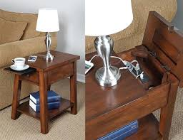 broyhill end table with usb usb nightstand ezpass club