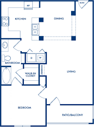 Lenox Floor Plan 1 2 U0026 3 Bedroom Apartments In Atlanta Ga Camden Phipps