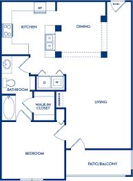 1 Bedroom Floor Plans by 1 2 U0026 3 Bedroom Apartments In Atlanta Ga Camden Phipps