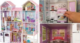 tour of the kidkraft country grand estate wooden dollhouse youtube