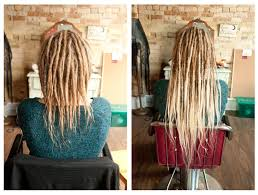installing extension dreads in short hair how to install dreadlock extensions new youtube