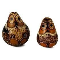 handmade ornaments peruvian owl home kitchen