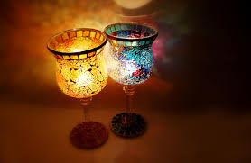 tealight holders mosaic candelabra candle holder glass votive for